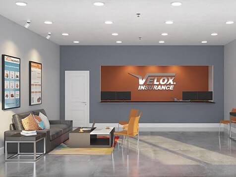 Velox Insurance Franchise Interior Layout