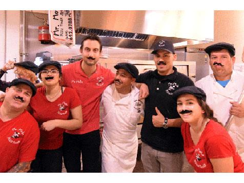 Mr. Moto Pizza franchise - pizzeria staff