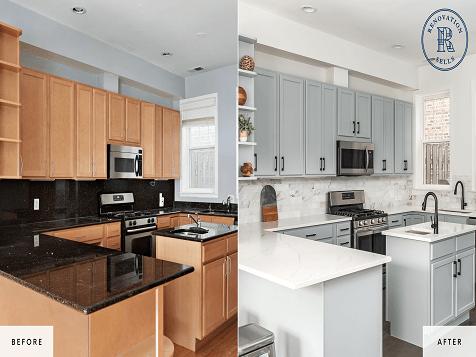 Renovation Sells Franchise - Before & After