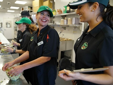 Chop Stop Franchise - Employees at work