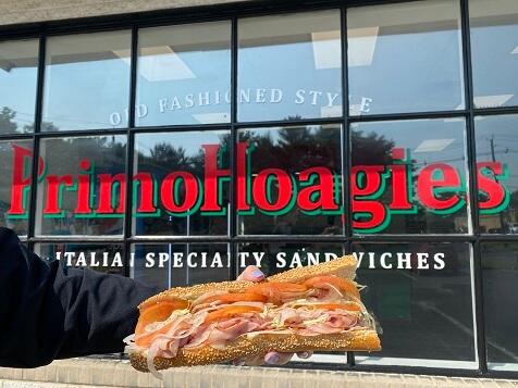 PrimoHoagies Franchise - Exterior of Sandwich Shop